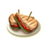 Baconös salátás pirítós