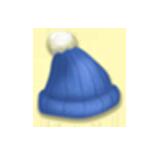 Kék skót sapka