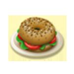 Vegetáriánus szendvics