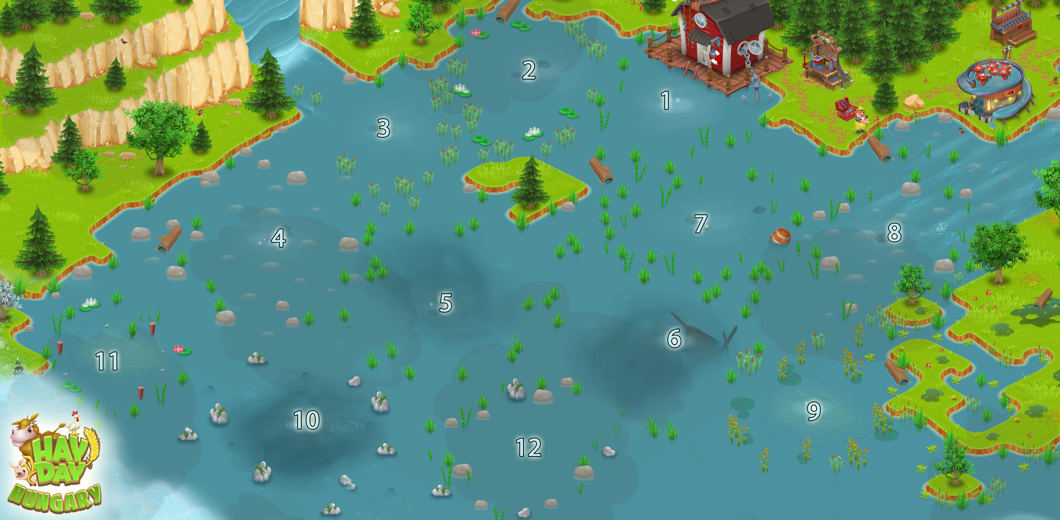 Horgász terület